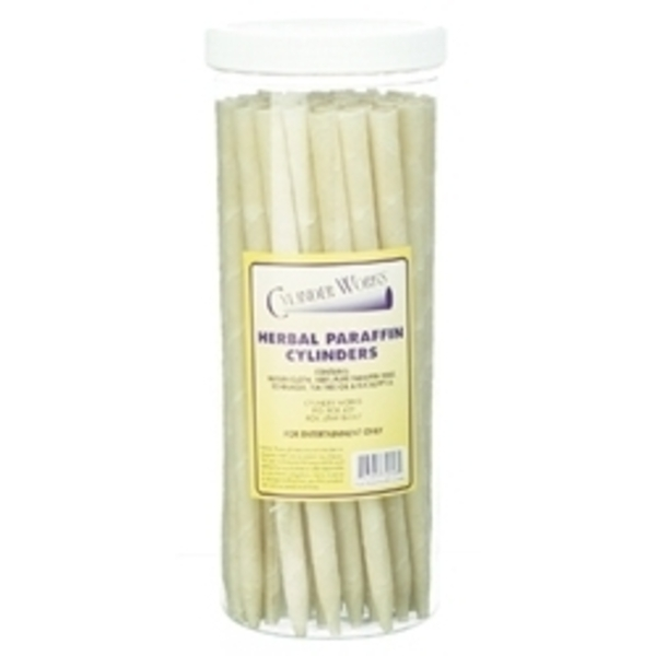 CYLINDER WORKS Herbal Blend Incense Candles 50 Count (320281)