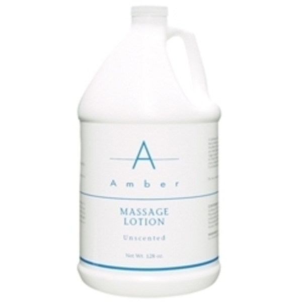 AMBER PROFESSIONAL Unscented Massage Lotion 1 Ga