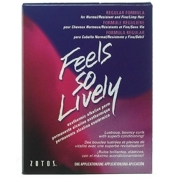 ZOTOS Feels So Lively Regular Perm 1 Application