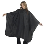"DIAMOND TECHNICAL Chemical Cape 54""W x 60""L Black. (447166)"