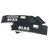 BLAX Black Snag-Free Hair Elastics 2mm. 12-ct.