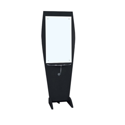 TISPRO Styling Station with Mirror Black