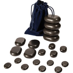 Basalt Pedi Massage Stones - 20 Piece Set (491003)