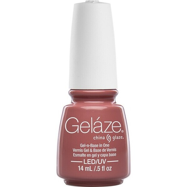 China Glaze Gelaze - Dress Me Up Gelaze 2-in-1 Gel Polish System - Gel-n-Base In One! (517625)