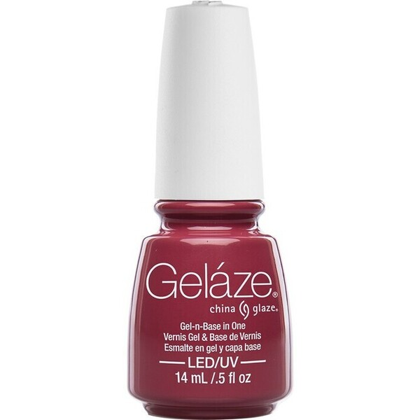 China Glaze Gelaze - Fifth Avenue Gelaze 2-in-1 Gel Polish System - Gel-n-Base In One! (517626)