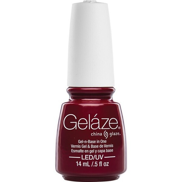 China Glaze Gelaze - Seduce Me Gelaze 2-in-1 Gel Polish System - Gel-n-Base In One! (517628)