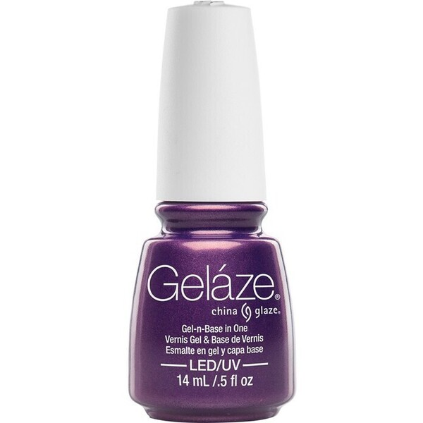 China Glaze Gelaze - Coconut Kiss Gelaze 2-in-1 Gel Polish System - Gel-n-Base In One! (517638)