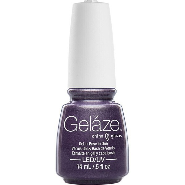 China Glaze Gelaze - Avalanche Gelaze 2-in-1 Gel Polish System - Gel-n-Base In One! (517639)
