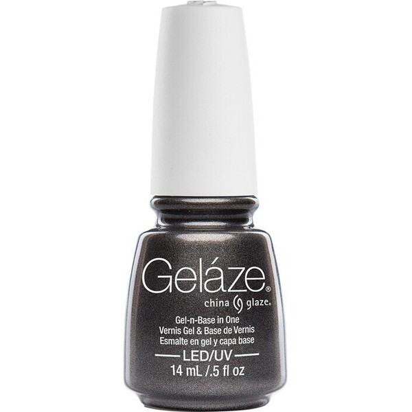 China Glaze Gelaze - Black Diamond Gelaze 2-in-1 Gel Polish System - Gel-n-Base In One! (517640)