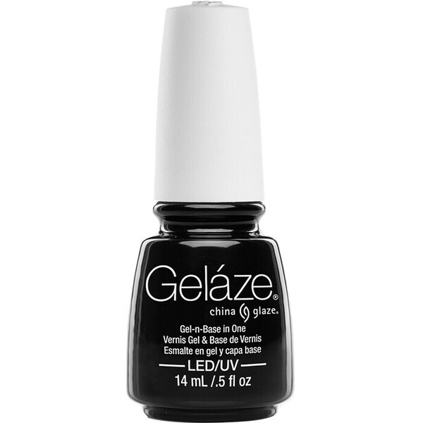 China Glaze Gelaze - Liquid Leather Gelaze 2-in-1 Gel Polish System - Gel-n-Base In One! (517641)