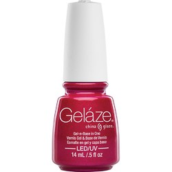 China Glaze Gelaze - 108 Degrees Gelaze 2-in-1 Gel Polish System - Gel-n-Base In One! (517647)