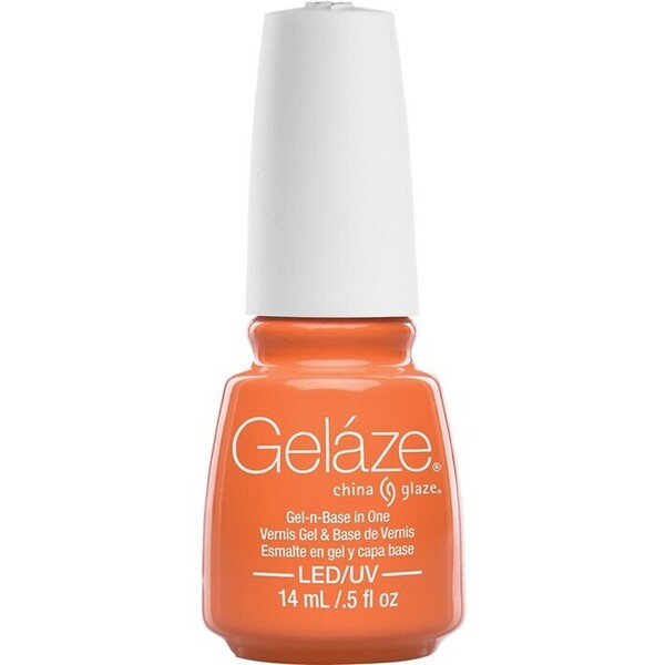 China Glaze Gelaze - Peachy Keen Gelaze 2-in-1 Gel Polish System - Gel-n-Base In One! (517650)
