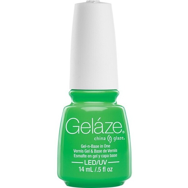China Glaze Gelaze - In the Lime Light Gelaze 2-in-1 Gel Polish System - Gel-n-Base In One! (517661)
