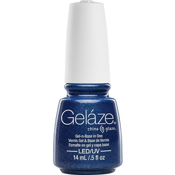 China Glaze Gelaze - Dorothy Who? Gelaze 2-in-1 Gel Polish System - Gel-n-Base In One! (517666)