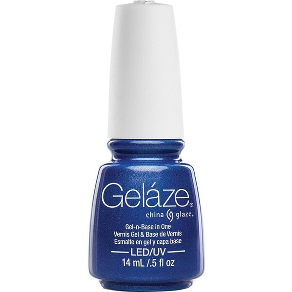China Glaze Gelaze - Frostbite Gelaze 2-in-1 Gel Polish System - Gel-n-Base In One! (517668)