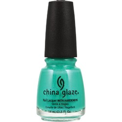 China Glaze Nail Lacquer - Turned Up Turquoise (517765)