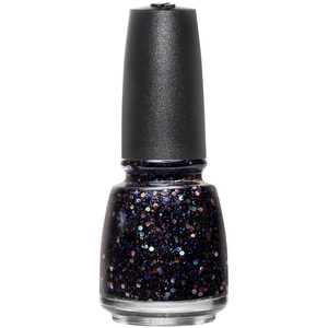 China Glaze Nail Polish - Cheers! Holiday Collection - Coal Hands Warm Heart - 12 oz (14.79 ml) (517804)