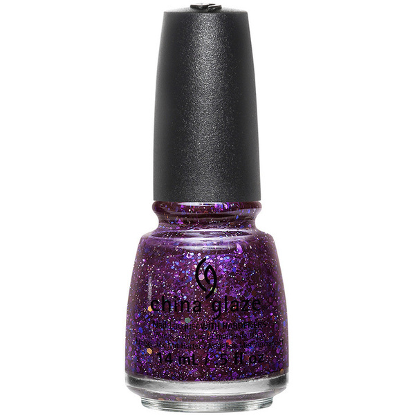 China Glaze Nail Polish - Cheers! Holiday Collection - Brand Sparkin' New Year - 12 oz (14.79 ml) (517808)