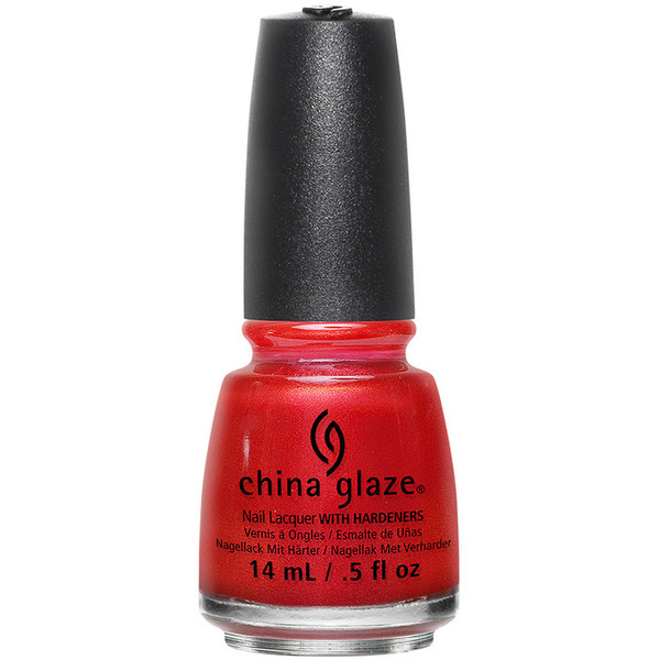 China Glaze Nail Polish - Cheers! Holiday Collection - Son Of a Nutcracker - 12 oz (14.79 ml) (517813)