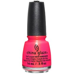 China Glaze Nail Lacquer - Lite Brites Summer Collection - Bite Me 0.5 oz. (517817)