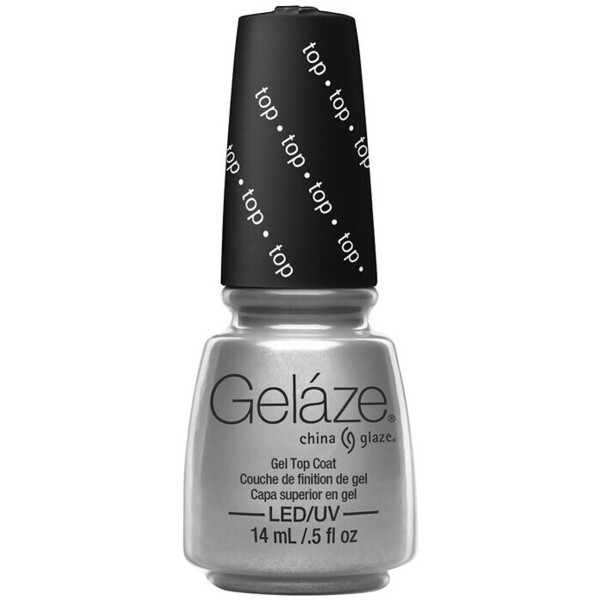 China Glaze Gelaze - Gel Top Coat Gelaze 2-in-1 Gel Polish System - Gel-n-Base In One! (517826)