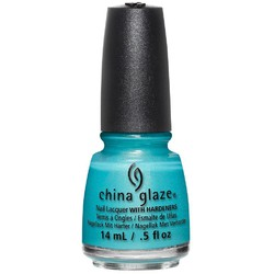 China Glaze Nail Lacquer - Lite Brites Summer Collection - What I Like About Blue 0.5 oz. (517835)