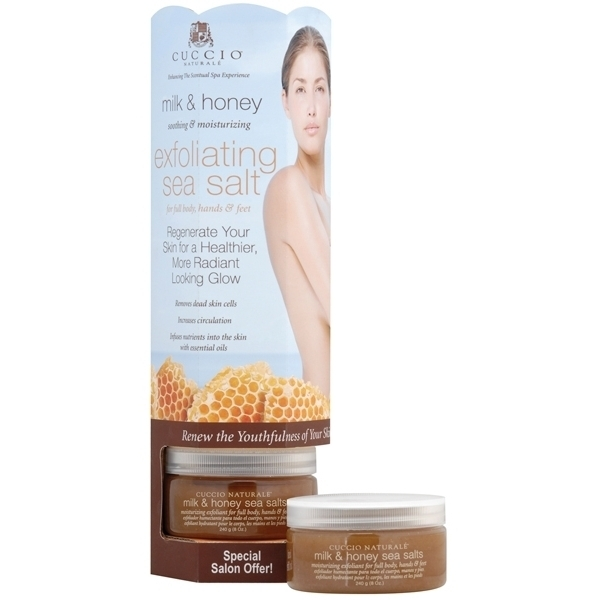 CUCCIO NATURALE Milk & Honey Sea Salt Display Tower (662115)