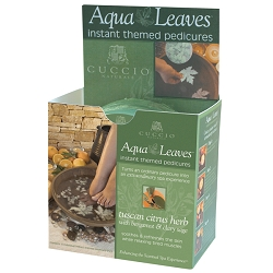 CUCCIO NATURALE Tuscan Citrus Herb Aqua Leaves (662121)