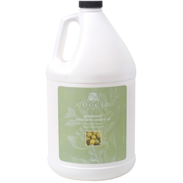 CUCCIO NATURALE Grapeseed Hand Anti-Oxidant Oil 1 Gallon (662130)