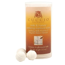 CUCCIO NATURALE Milk & Honey Manicure Soak Balls 24 Count (662142)