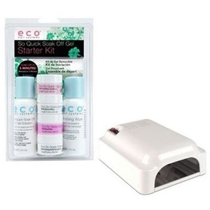 STAR NAIL Eco Soak Off UV Gel Starter Kit with UV Light (662190)