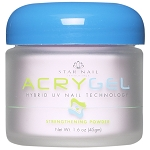 STAR NAIL AcryGel Strengthening Powder Pink 1 oz. (662214)