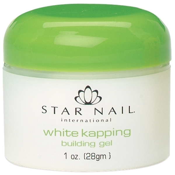 STAR NAIL White Kapping Building Gel 1 oz. (662225)