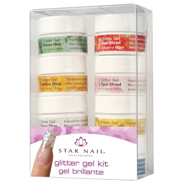 STAR NAIL Glitter Gel Kit (662238)