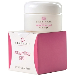 STAR NAIL Starlite Gel White .5 oz. (662256)