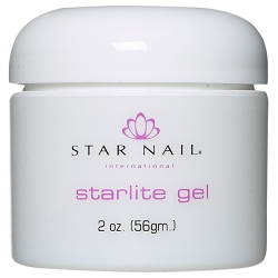 STAR NAIL Starlite Gel White 2 oz. (662257)