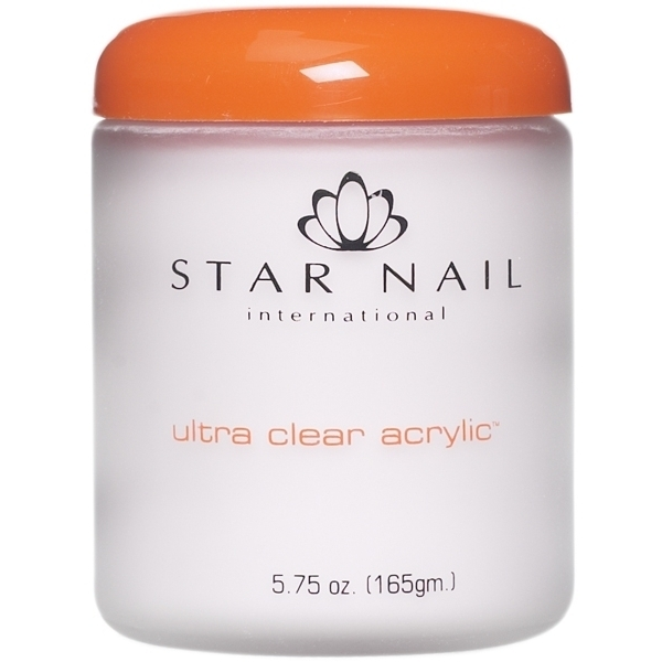 STAR NAIL Ultra Clear Acrylic Powder Clear 8 oz. (662277)