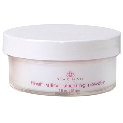 STAR NAIL Flash Silica Shading Powder Clear 1.6 oz. (662370)