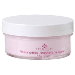 STAR NAIL Flash Silica Shading Powder Pink 1.6 oz. (662373)