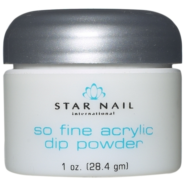 STAR NAIL So Fine Powder White 1 oz. (662388)