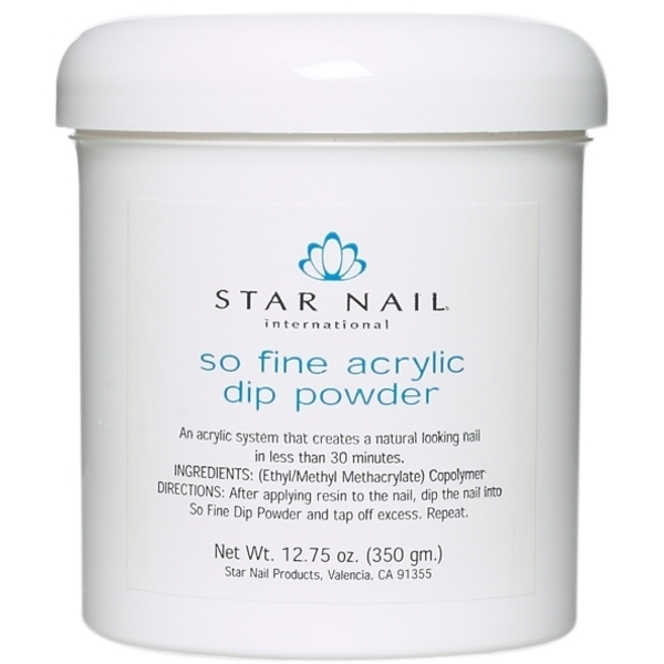STAR NAIL So Fine Powder White 16 oz. (662391)