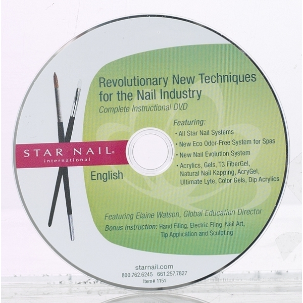 STAR NAIL Fast Set Express DVD (662494)