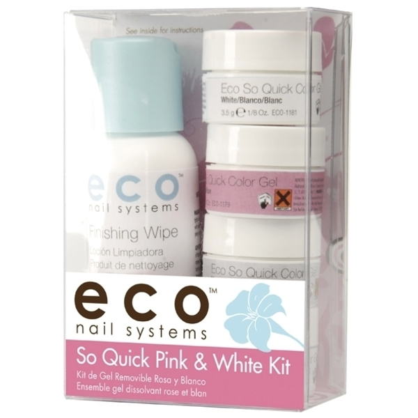STAR NAIL Eco Soak Off UV Gel Pink & White Kit (662784)
