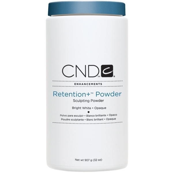 CND Retention+ Powders Bright White - Opaque 32 oz. (768208)