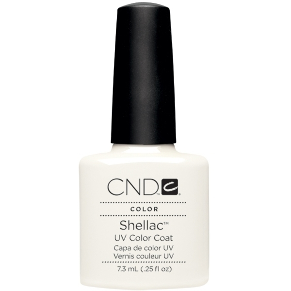 CND Shellac UV Color Coat Studio White .25 oz. (768843)