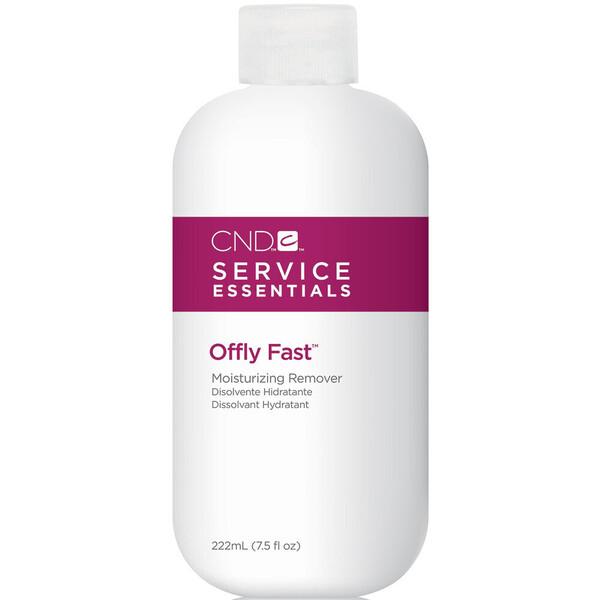 CND Shellac Service Essentials - Offly Fast Moisturizing Remover 7.5 oz. (formerly called CND Shellac Nourishing Remover) (768861)