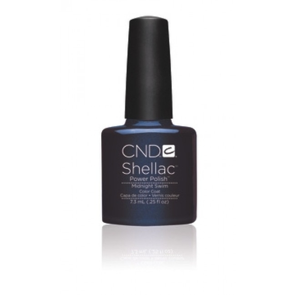 IN STOCK NOW! CND Shellac UV Color Coat Fall 2012 - Midnight Swim