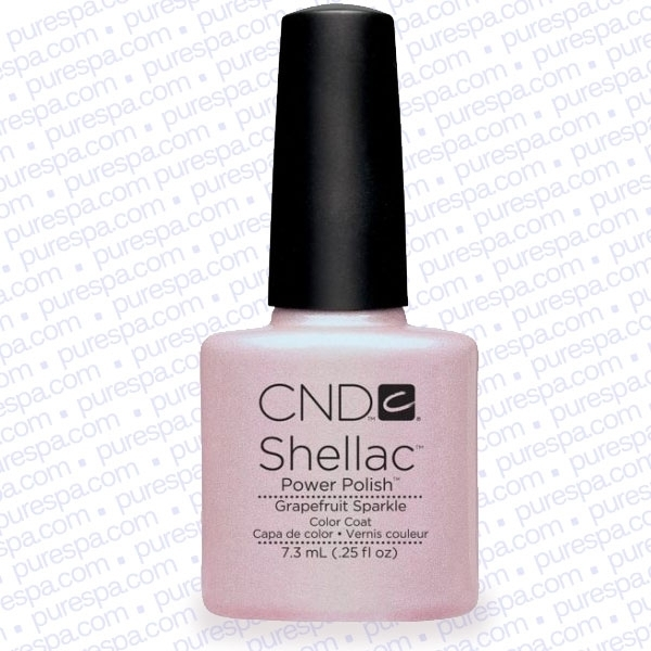 CND Shellac Spring 2013 Collection - Grapefruit Sparkle / 0.25 oz. - 7.3 mL