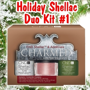 CND Shellac Holiday 2013 Charmed Collection - Duo Kit #1