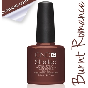 CND Shellac Fall 2013 Forbidden Collection - Burnt Romance / 0.25 oz. - 7.3 mL
